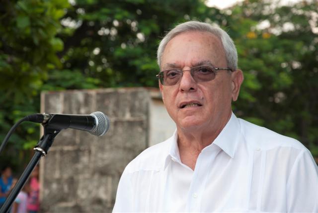 El Historiador de la Ciudad, Doctor Eusebio Leal Spengler / Foto: Alexis Rodríguez