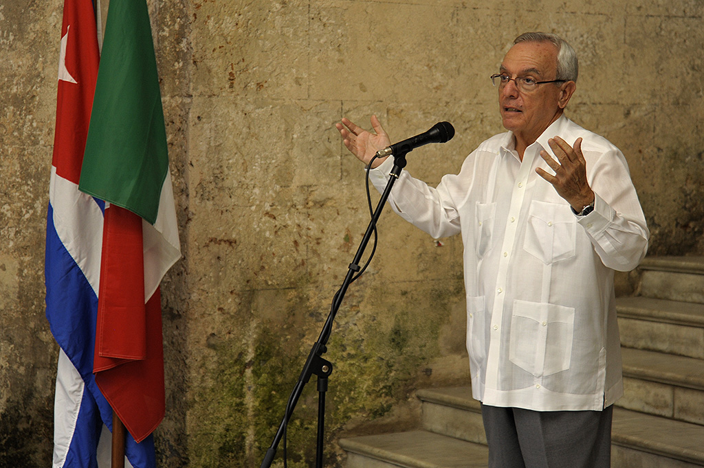 Comienza en Cuba XVI Semana de la Cultura Italiana / Foto Néstor Martí