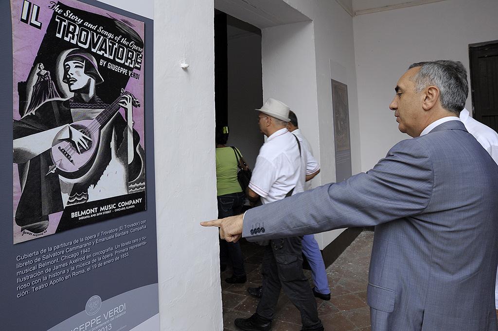 El embajador de Italia en Cuba, excelentísimo Sr. Carmine Robustelli / Foto Néstor Martí