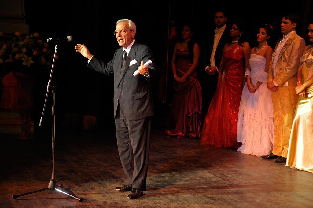 Gala de reapertura del Teatro Martí / Foto Néstor Martí