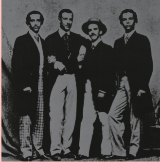 imágenes tomadas durante la época de estudiante de Ignacio Agramonte.