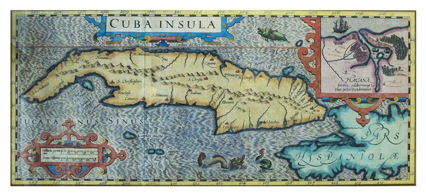Havana 1610 por Mercator (Small)