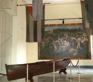 Sala de las banderas del Museo de la Ciudad de La Habana